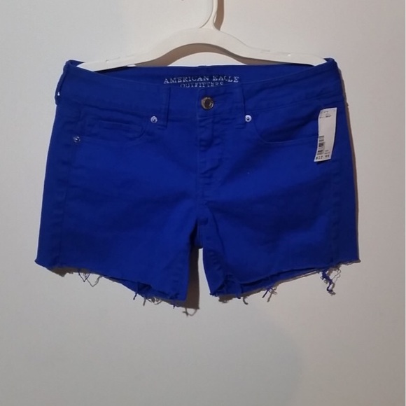 American Eagle Outfitters Pants - American Eagle woman's stretch jean shorts size 4